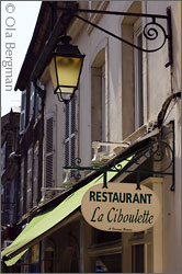Restaurant La Ciboulette in Beaune.