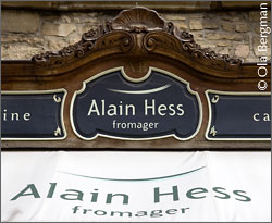 Fromagerie Alain Hess, Beaune, Burgundy.