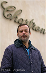Jean-Michel Chartron at Domaine Jean Chartron in Puligny-Montrachet.