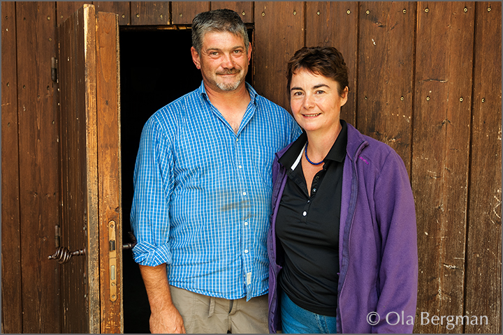 Jean-Paul and Pascale Martin, Domaine Martin-Dufour.