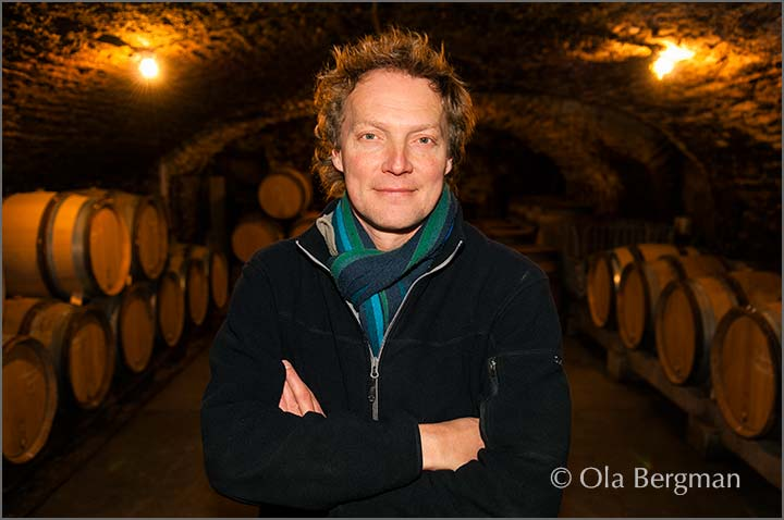 Richard Bos at Maison JanotsBos in Meursault.
