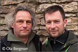 Martin and Pierre Bart, Domaine Bart, Marsannay, Burgundy.