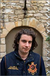 Romain Collet at Domaine Jean Collet in Chablis.