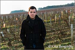 Adrien Gautherin at Domaine Raoul Gautherin in Chablis, Burgundy.