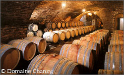 The cellars of Domaine Chanzy.
